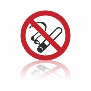 Rookverbod sticker