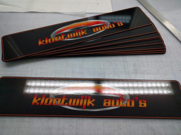 Showroomplaten Klootwijk Autos