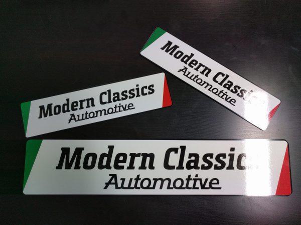 Showroomplaten Modern Classics