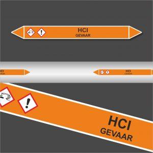 Leiding Markeringen Stickers HCI (Zuren)