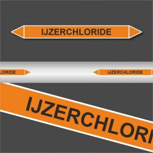 Leiding Markeringen Stickers Ijzerchloride (Zuren)