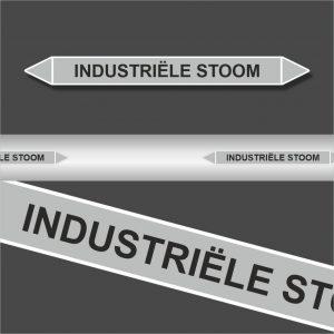 Leidingstickers Leidingmarkering Industriele stoom (Stoom)
