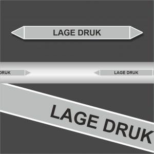 Leidingstickers Leidingmarkering Lage Druk (Stoom)