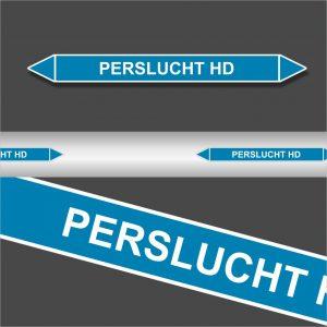 Leidingstickers Leidingmarkering Perslucht HD (Lucht)