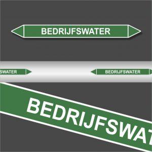 Leidingstickers Leidingmarkering bedrijfswater (Water)
