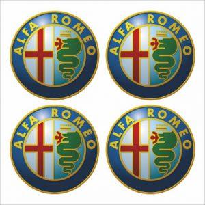 Wielnaaf sticker Alfa Romeo product