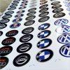 Wielnaaf stickers Meerstickers