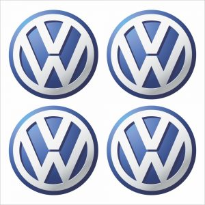 Wielnaaf stickers VW Volkswagen