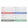 Onderhoud stickers Aircoservice R1234YF Universeel