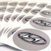 Wielnaaf stickers Hyundai grijs